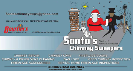 Logo, Santa's Chimney Sweeps